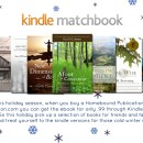 Kindle Matchbook Holiday Sale!