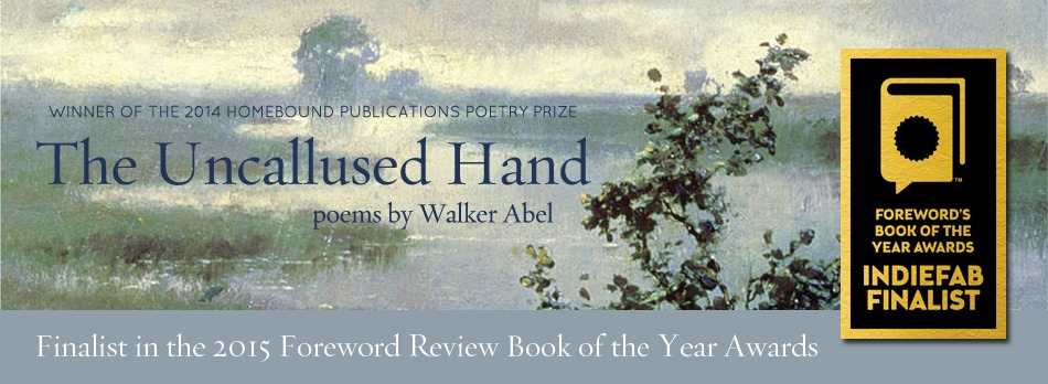 The Uncallused Hand | Finalist for Foreword Review Book of the Year!
