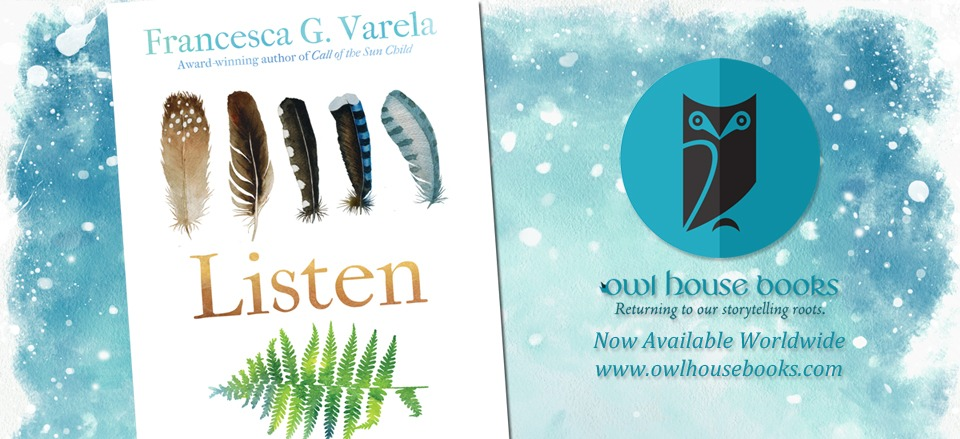 "Read the First Two Chapters of Francesca G. Varela's ""Listen"""